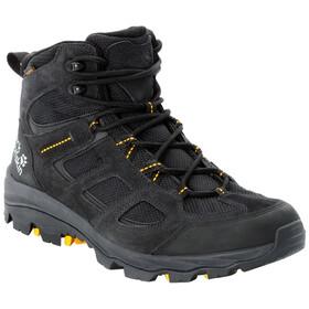 Jack Wolfskin Vojo 3 Texapore Mid Shoes Men, black/burly yellow XT